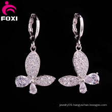 2016 Newest Design Elegant Shinney Brass Jewelry Earring