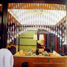 Cortina de cristal irregular de la decoración casera para la cocina