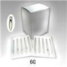 G6 agulha de perfuração de tatuagem de aço inoxidável 316L