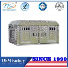 Fabricantes de jaula de perro de aluminio profesionales personalizados