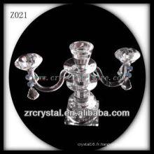 Bougeoir en cristal populaire Z021