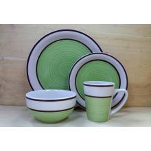 16PCS Ceramic Hand Painting Dinnerware Sets (WSY1118S)
