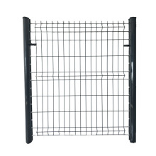 Hot sale reasonable price for Mesh Metal Fence home garden powder coated green fence panels export to Belize Importers