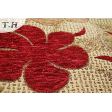Polyester Chenille Jacquard Woven Upholstery Fabric