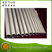 Tube et tuyau sans couture de titane pour le condenseur et l'échangeur de chaleur