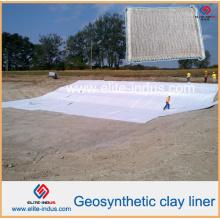 Installations d'enfouissement et de mise en dépôt des revêtements d'argile géosynthétiques de vente chaude
