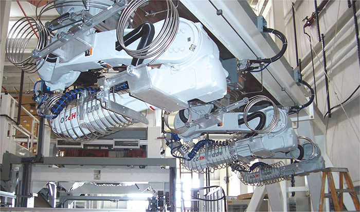 Robotic Waterjet Cutting Machine