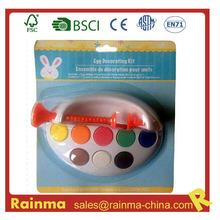 Pascua DIY juguete de pintura de color de agua