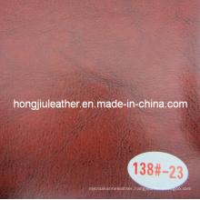 Oil Waxy Leather Used in KTV Decorative Packing Material