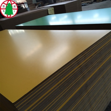 colorful melamine laminated mdf  board