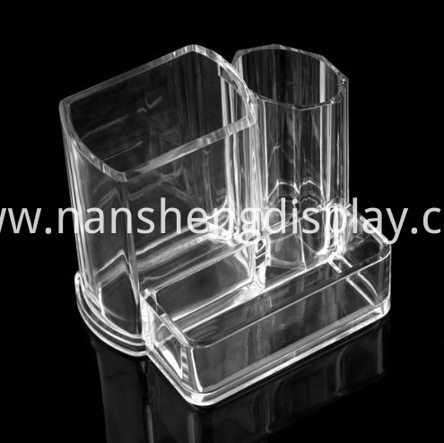 Clear Acrylic Makeup Brush Holder