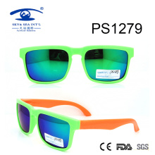 Custom Made Double Color Colorful Kid Plastic Sunglasses (PS1279)
