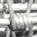 Stacheldraht aus aluminiumplattiertem Stahl