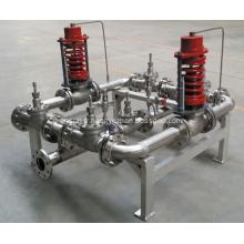 Collecteurs de commande de pression des gaz cryogéniques