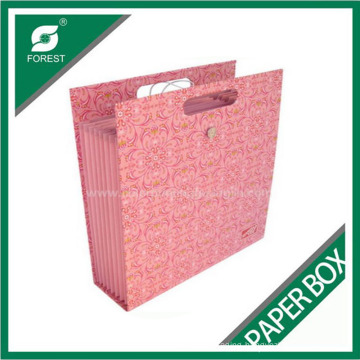 Fancy Paper Shopping Bag with Handle