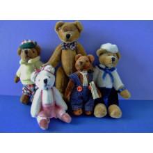 Maßgeschneiderte OEM-Design kleine gefüllte Plüschtier Mini-Teddybär