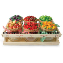 Fruit Decor Cookie Jar (volume 440ml)
