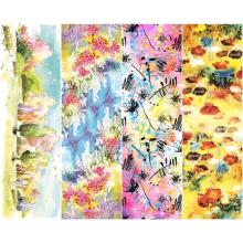Custom Digital Printing Soft Textile Scarf (C-027)