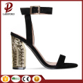 Woman sandals new design fancy lady sandal