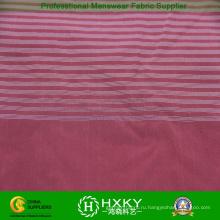 75D окрашенная пряжа горизонтальная полоса с полиэфирной ткани саржевого куртка