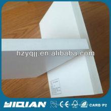 Feito na China Placa de espuma de PVC branco de alta densidade Aplicação de móveis Placa de espuma de PVC