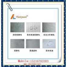 Saco de filtro de pó acrílico para o preto de carbono