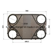 Joints de rechange pour l'Extincteur de chaleur à plaques Alfalavalp36, P31, Am20b, Clip6
