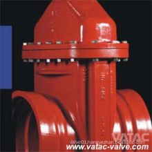 Non Rising Stem Clamp Ends Soft Seat Gate Valve