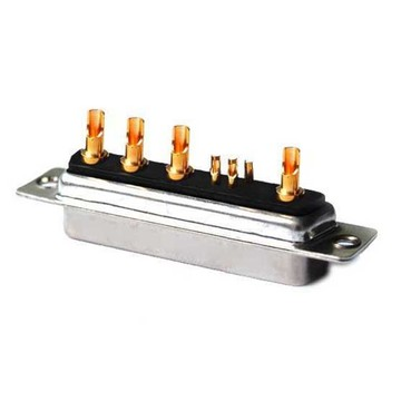 Power D-SUB 9W4 20A FEM-soldeer