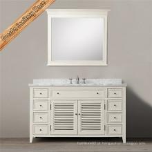 Gabinete de banheiro branco de nova moda para poupança de espaço