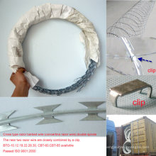 Low Price Ome Depot Hot Dipped Razor Barbed Wire