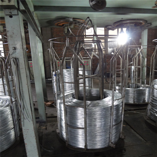 Electro galvanzied building wire Produce Line
