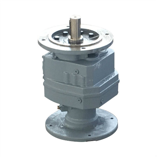 Coaxial Helical Gearbox dengan Inline Motor For Agitator