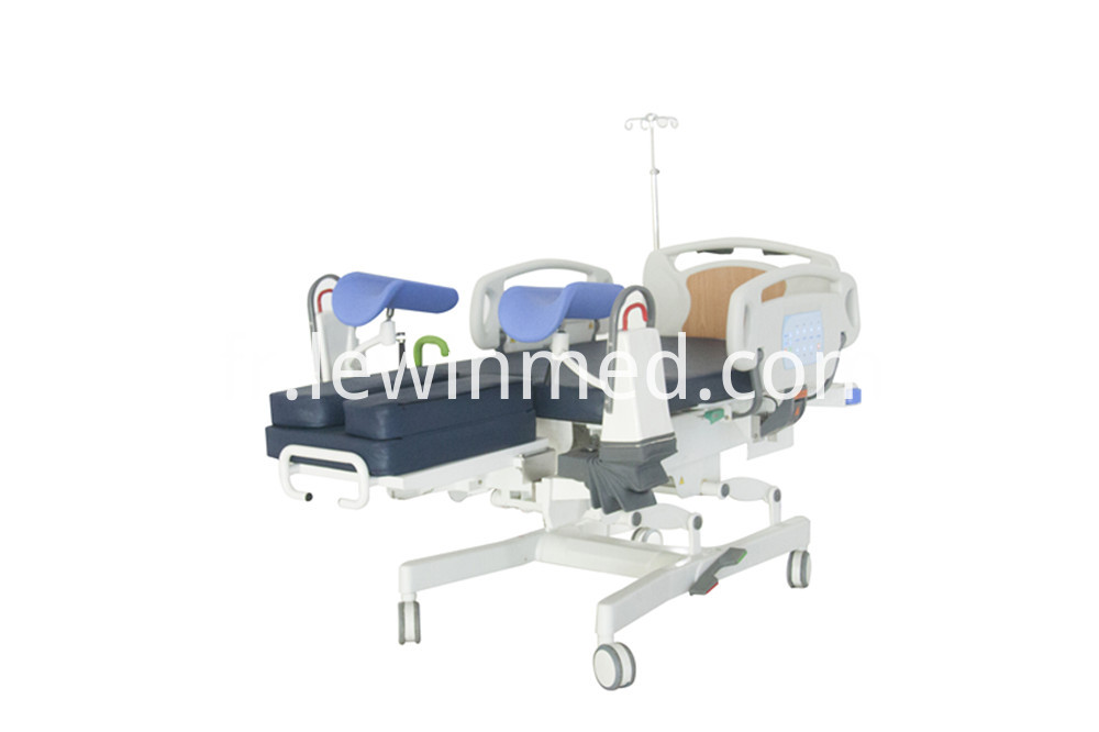 LDR female examination bed