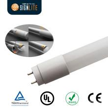 UL Dlc Mejor reemplazo fluorescente 110lm / W 9W 2ft T8 LED luz del tubo