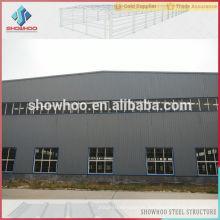 prefabricado de graneros de metal fábrica de vertiente de diseño con foto