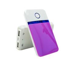 De Buena Calidad Banco de energía de batería de Li-Polímero 4000mAh-Dual USB