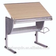 Utilisation à domicile Table en bois à table ajustable en bois