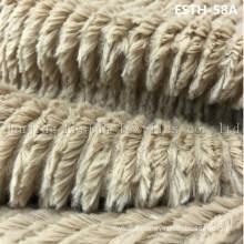 PV Plush/ Polyboa / Tricot Velboa / Warp Knit Boa Esth-58A