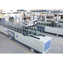 Cold and Hot Glue Profile Wrapping Machine