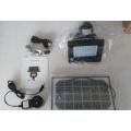 Cámara termal al aire libre impermeable de la lámpara solar, cámara de WIFI con la detección de PIR