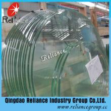 12mm transparentes gehärtetes Glas für Gebäude
