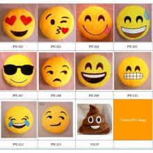 wholesale cheap cute emoji pillows custom plush emoji pillows