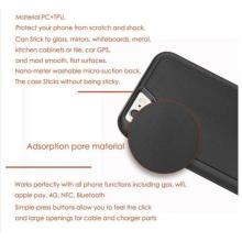 Anti-gravité Selfie Case pour iPhone7 / 6 / 6s 4,7 pouces avec Magical Nano Sticky peut coller à verre, miroirs, tableaux blancs, métal, armoires de cuisine ou de tuiles, GPS de voiture,