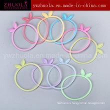 Мода Силиконовая резина браслет для девочки