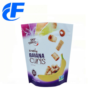 Wholesale stand up aluminum foil food packaging bag