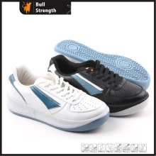 Leisure Leather Shoe with PU Injection Outsole (SN5159)