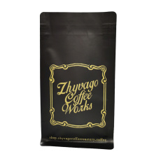 quadratischer Kaffeebeutel mit Ventil