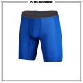 Shorts de compressão shorts de yoga shorts de ginástica masculina