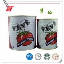 830g Pâte de tomate en conserve de marque Veve